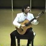 Ricardo Cobo performs Gigue & Double: J.S. Bach BWV997