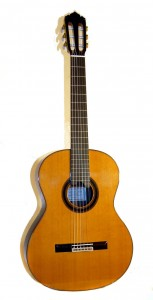 """Ricardo Cobo"" Model Classical Guitar by Alhambra"